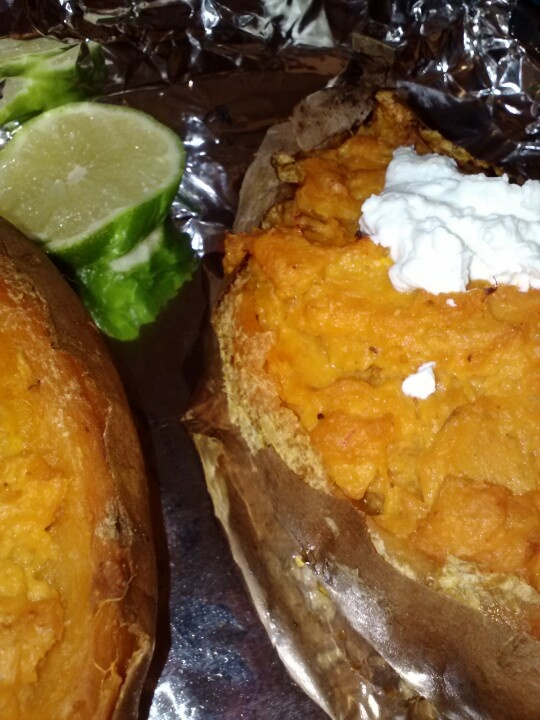 sweet potatoes twice baked sweet chipotle cheddar twice baked sweet ...