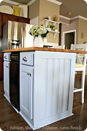 Kitchen Island Makeover Diy Trim And Moldings Pinterest