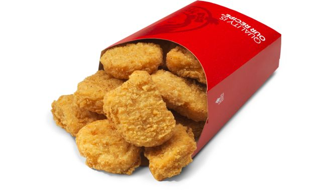 Wendy's crispy chicken nuggets. | Edible Happiness | Pinterest