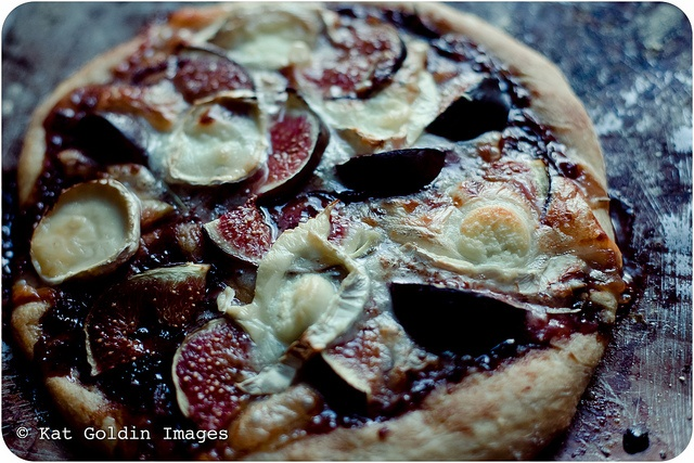 Fig and Goat Cheese Pizza SlugsOnTheRefrigerator, via Flickr