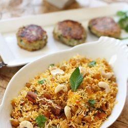 Spicy Chickpea Biryani with Aromatic Toasted Cumin & Coriander Potato ...