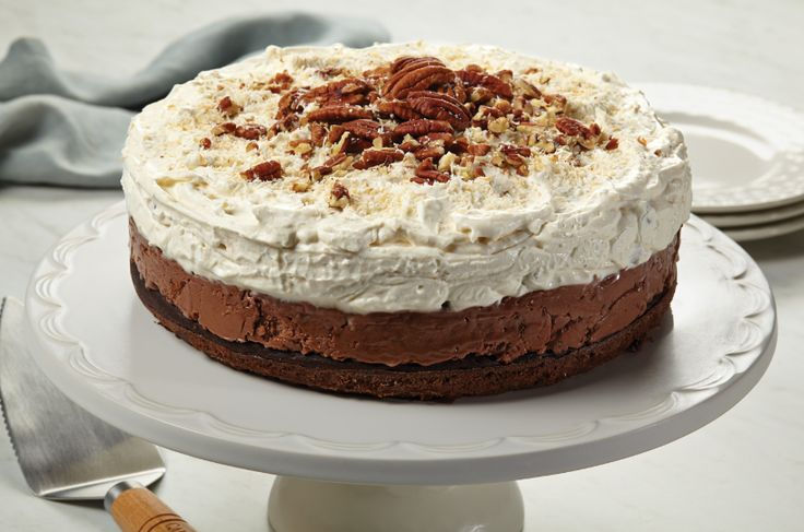 German Chocolate Ice Cream Cake recipe - www.CakeBossBaking.com