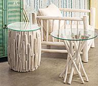 Muebles hechos con troncos y ramas decoration pinterest - Muebles con troncos ...