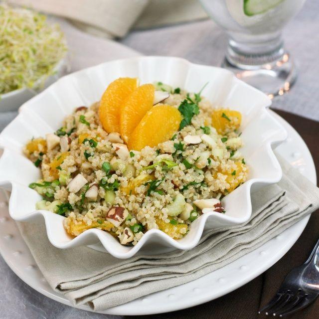 Quick and Easy Quinoa Orange Salad | Recipe