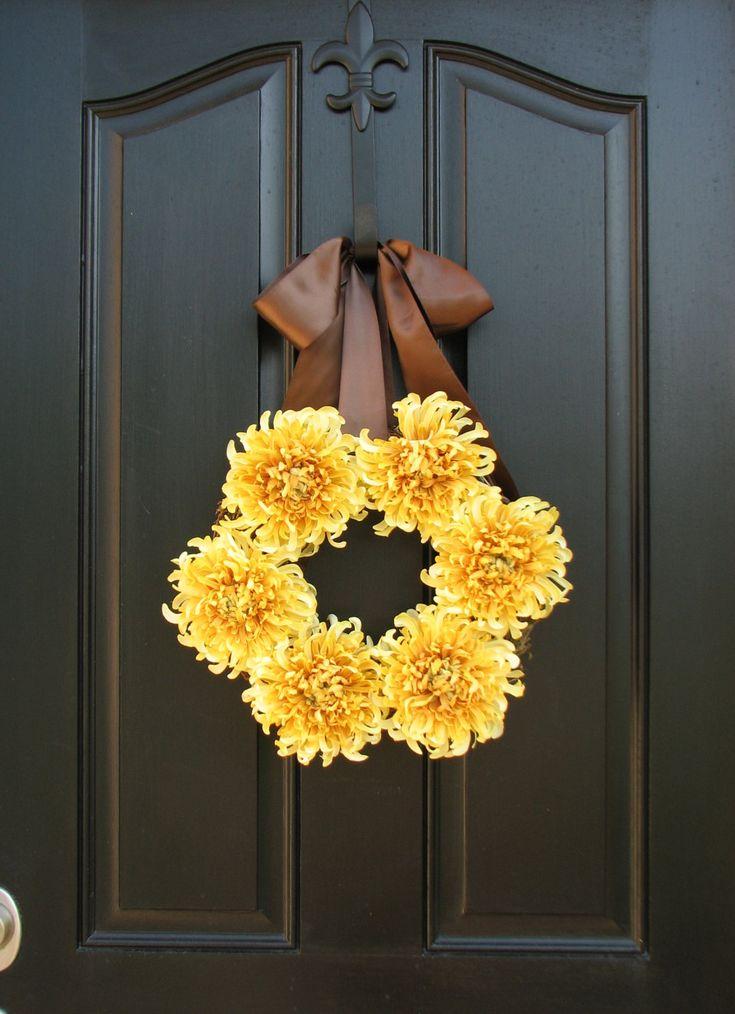 Autumn Sun Fall Wreaths Fall Decor Front Door by twoinspireyou