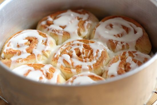 ... tested a scaled down version of Pioneer Woman's Cinnamon Roll recipe
