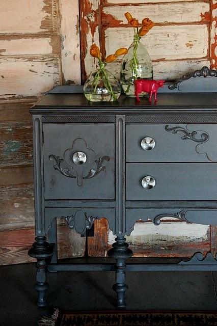 Repurposed sideboard. | Furniture Ideas | Pinterest
