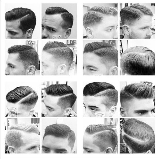 Classic gentleman haircut