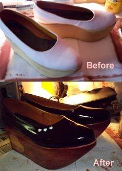 egl: Customized rocking horse shoes