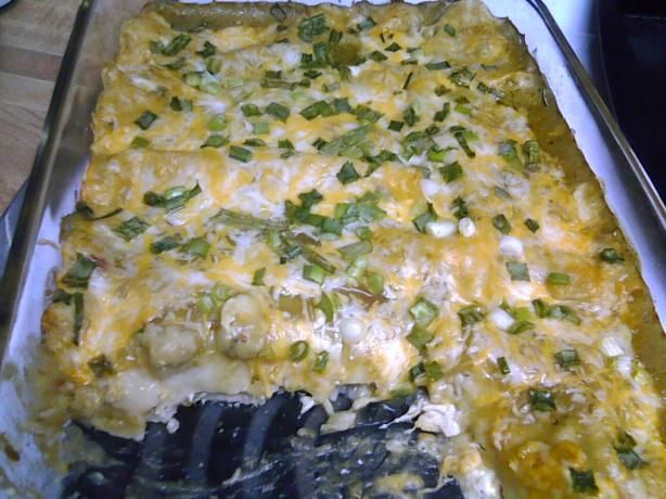 Easy green chili enchiladas! | Yummy Yummy in my Tummy! | Pinterest
