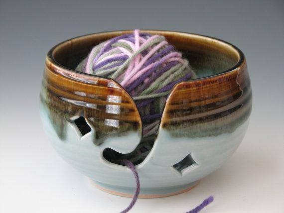 Knitting Yarn Bowl : Knitting yarn bowl pottery bowls pinterest
