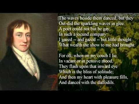 an analysis of the poems of william wordsworth an english poet William wordsworth poetry william wordsworth (7 april 1770 -- 23 april 1850) was a major english romantic poet who, with samuel taylor coleridge, helped to l.