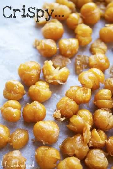 Fried chickpeas - I had these at a restaurant and adored them. I would ...