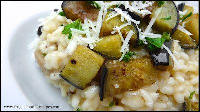 Eggplant & Lemon Risotto | gotta grain to go with that | Pinterest