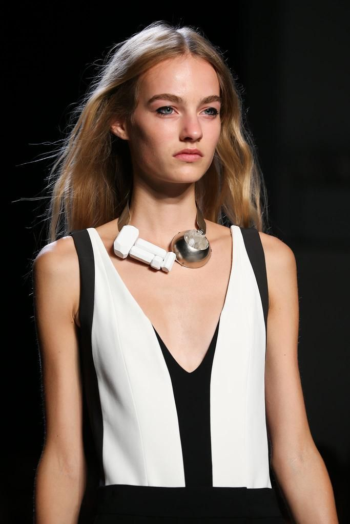 details @ Narciso Rodriguez Spring 2015