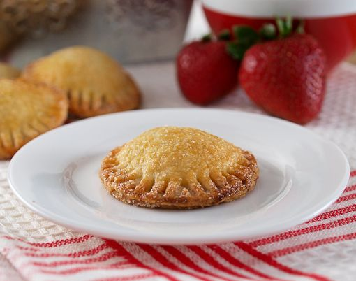 Two-Bite Strawberry Hand Pies   Baking and Cooking Blog - Evil ...