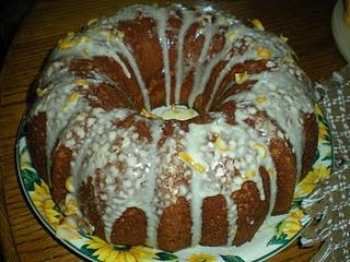 Orange Bundt Cake with Orange Marmalade Cream Cheese Filling