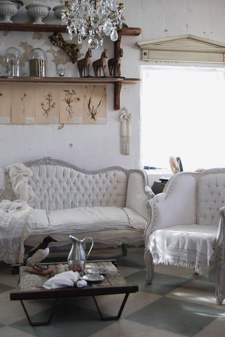 Shabby Chic Interior Sitting Room