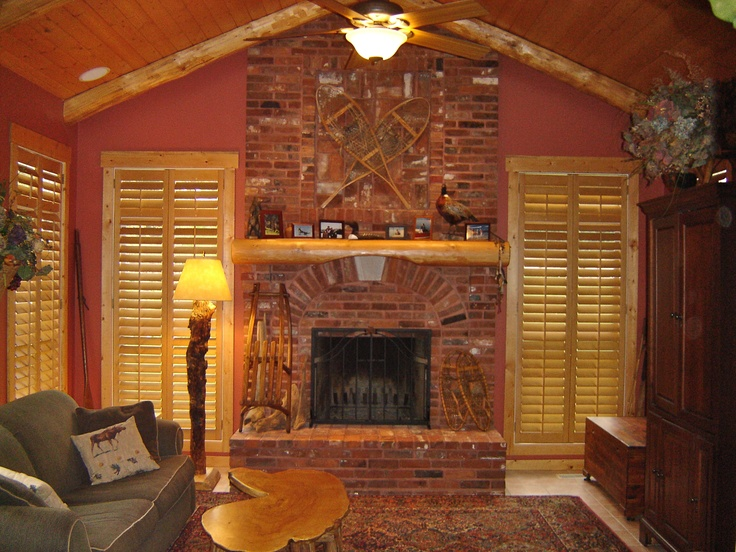 Wood Shutters For That Rustic Feel Interior Shutters