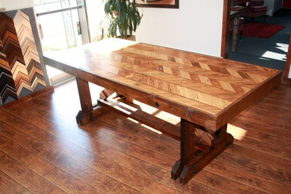 reclaimed barnwood dining room table by artsineverything on etsy