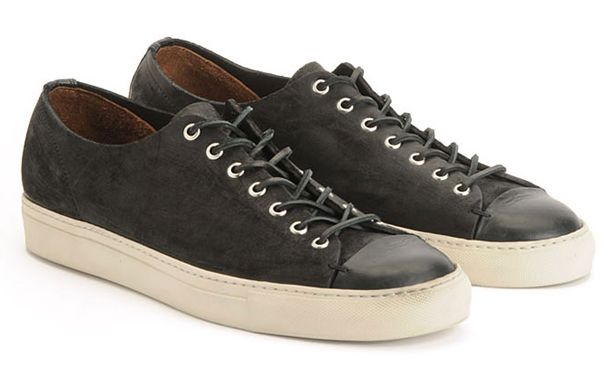 Low top suede sneakers ($315) by AG Jeans X Buttero, agjeans.com Read