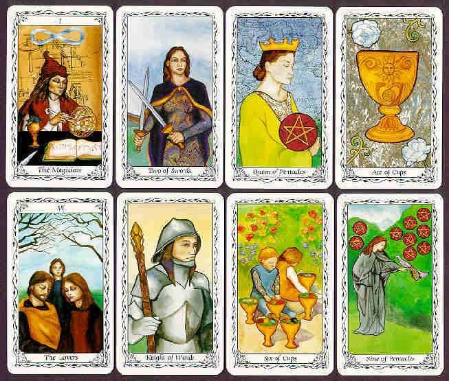 6 card tarot universal spread
