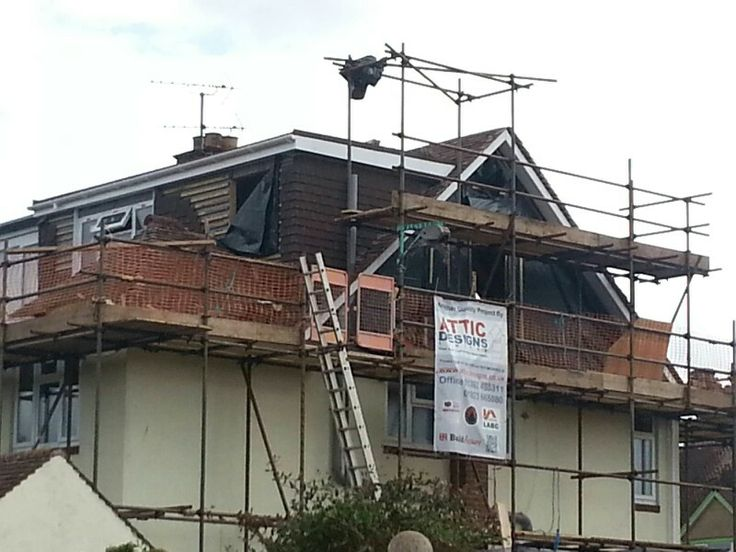 Pin by attic designs loft conversions on hip to gable for Roof dormer design plans
