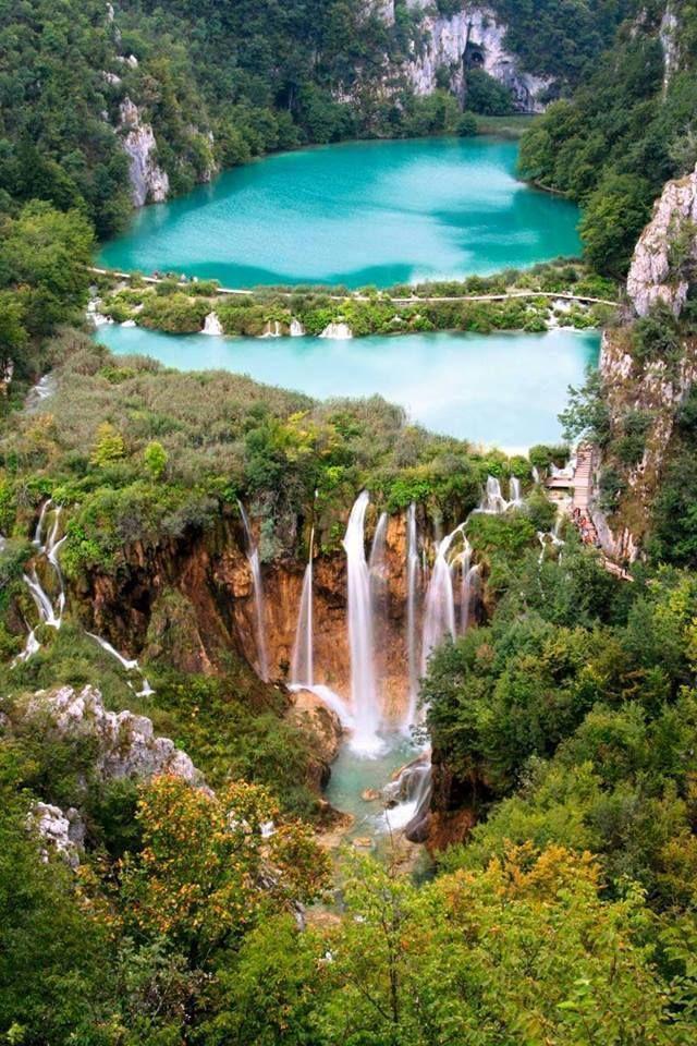 Plitvice Lakes National Park, Croatia • Wonders