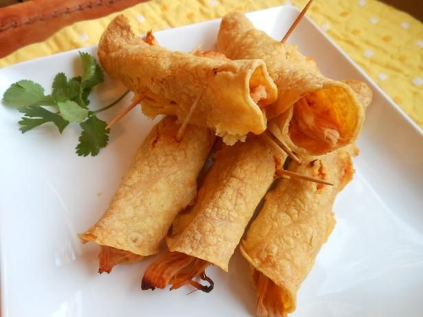 Chicken-and-Cheese Taquitos
