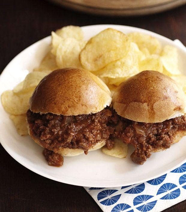 Sloppy Joe Sliders | My Pinterest Cookbook | Pinterest