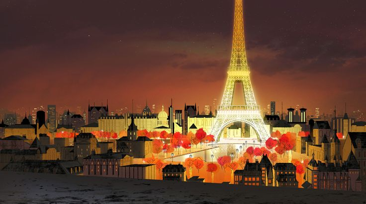 Paris by Joseph Holt  Painting by Kevin Dart