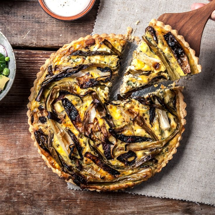 cheese tomato goat cheese and onion tart tart savory spring vegetable ...