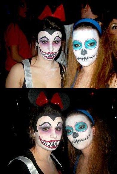 Maquillage halloween disney trash deguisement pinterest - Deguisement halloween disney ...