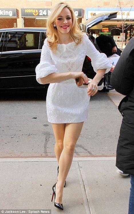 Rachel mcadams sexy dress