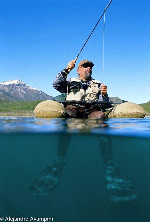 Pin by alejandro avampini on aventura y naturaleza pinterest for Belly boat fishing