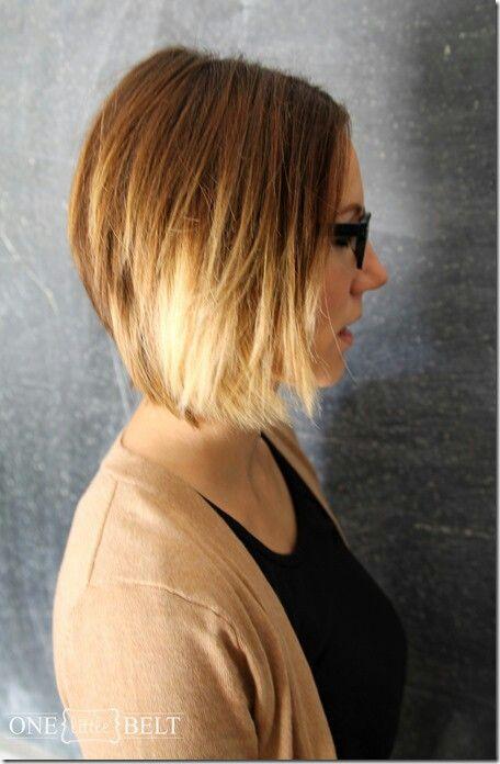 Ombre bob hair pinterest for Long bob ombre