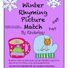Winter Rhyming Picture Match