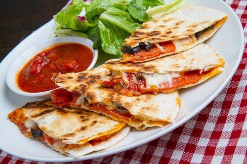 Closet Cooking: Pizza Quesadillas (aka Pizzadillas)