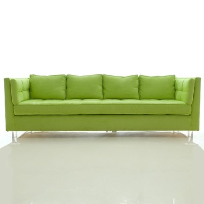 Lime Green Couch -  Glorious Green  Pinterest