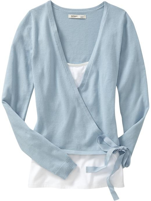 Old Navy Womens Ballet-Wrap Cardigans My Style Pinboard Pinter?