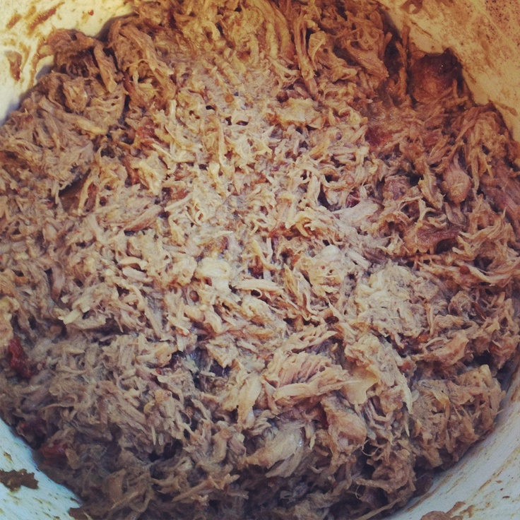 Mexican slow cooked pork carnitas - 15 min of prep the night before ...