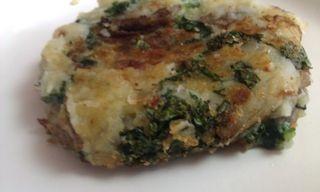 Potato and Kale Cakes with Rouille   Farm 2 Fork Recipes   Pinterest