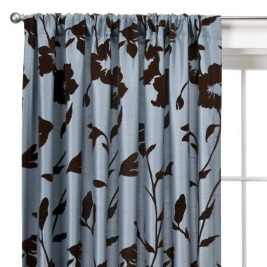 Brown And Blue Curtains For The Home Pinterest
