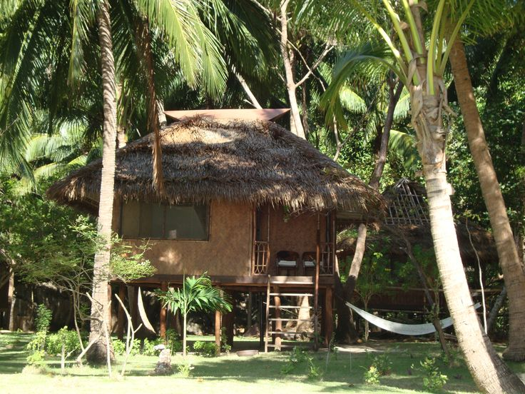 Our bahay kubo coron philippines balay pinterest