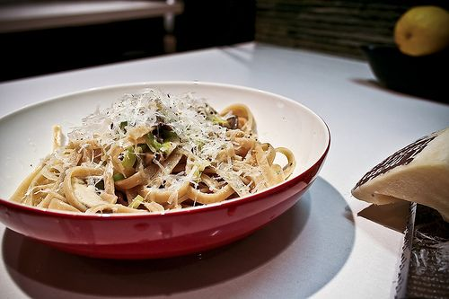 pasta carbonara with leeks and lemon recipes dishmaps pasta with leeks ...