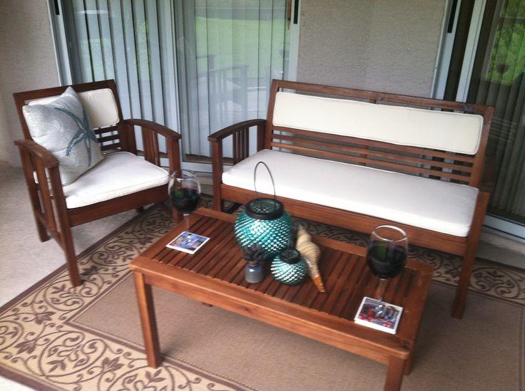 Lanai furniture for summer relaxing Lanai