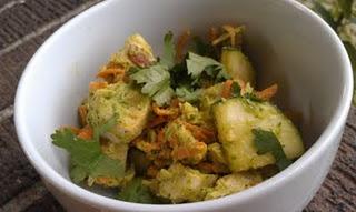 Avocado Cilantro Chicken Salad