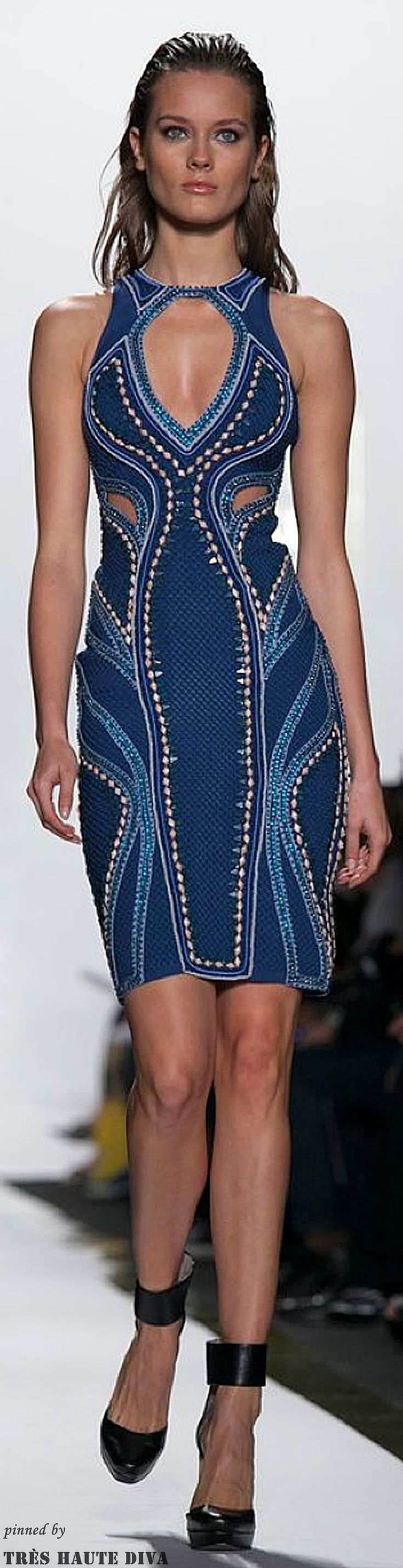 New York Fashion Week  Herve Leger Spring 2014 RTW