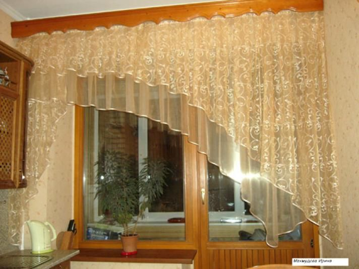 Модели штор своими руками фото