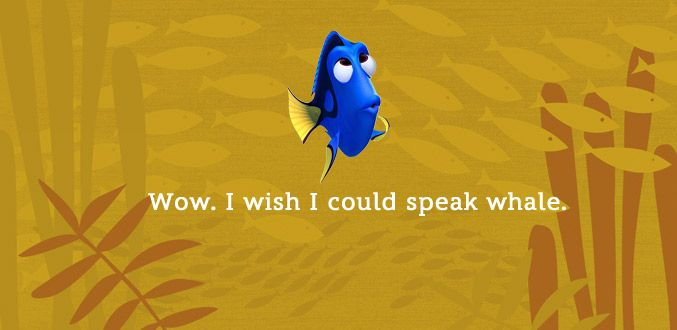 The Best Dory Quotes | Oh My Disney